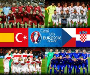 Układanka Grupa D, Euro 2016