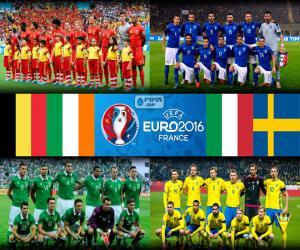 Układanka Grupa E, Euro 2016