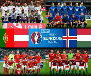 Układanka Grupa F, Euro 2016