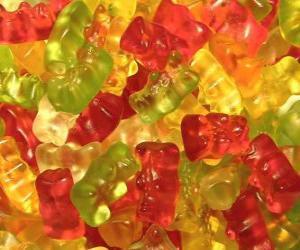 Układanka Gummy bears