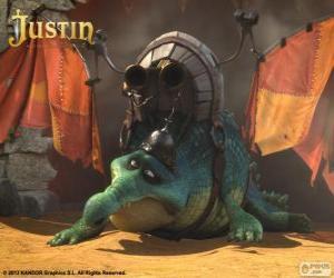 Układanka Gustav. Krokodyla, który chce latać i smoka