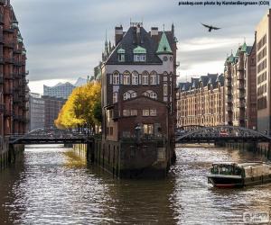 Układanka Hamburg, Niemcy