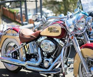 Układanka Harley-Davidson
