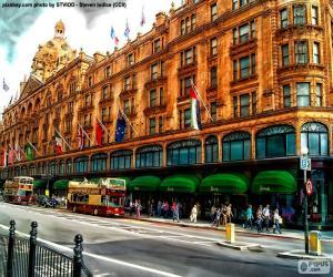 Układanka Harrods, Londyn