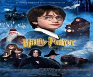 Układanka Harry Potter i Kamień Filozoficzny
