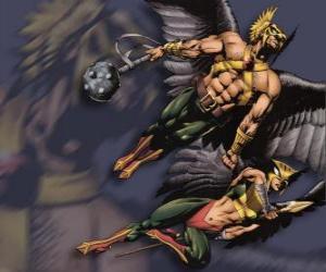 Układanka Hawkman lub Hawkgirl