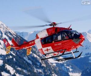 Układanka Helikopter ratowniczy szwajcarski