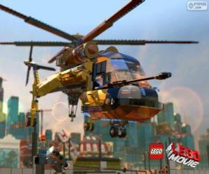 Układanka Helikopter z filmu Lego