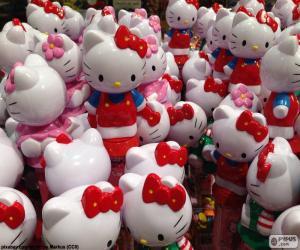 Układanka Hello Kitty dane