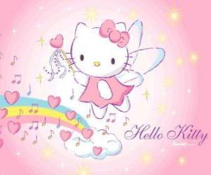 Układanka Hello Kitty fairy