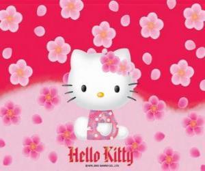 Układanka Hello Kitty z