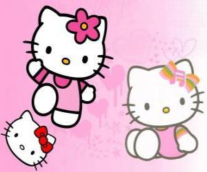 Układanka Hello Kitty