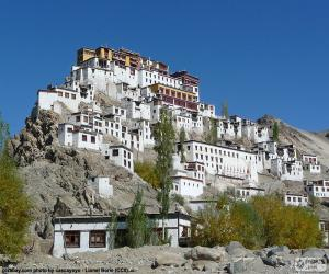 Układanka Hemis klasztor, Indie