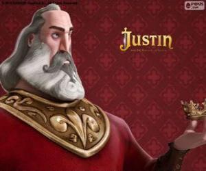 Układanka Heraclio, rycerza złoczyńcę, który planuje przejęcia tronu