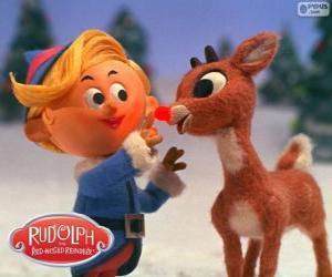 Układanka Hermey i Rudolf