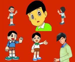 Układanka Hidetoshi Dekisugi, kolega Nobita