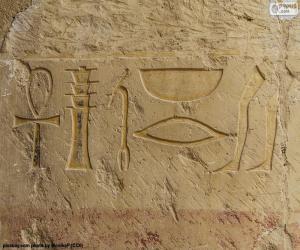 Układanka Hieroglifów