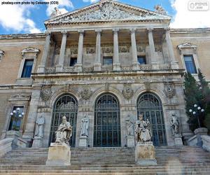 Układanka Hiszpańska Biblioteka Narodowa, Madryt