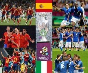 Układanka Hiszpania – Włochy. EURO 2012 Final
