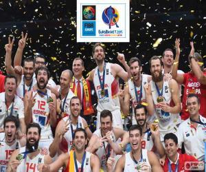 Układanka Hiszpania, EuroBasket 2015