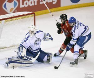 Układanka Hokej na lodzie