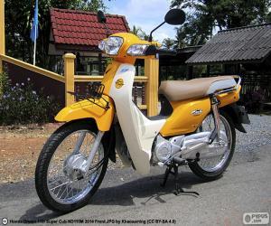 Układanka Honda Super Cub