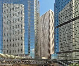 Układanka Hong Kong budynków