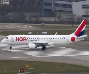 Układanka Hop! linie lotnicze tanich francuski