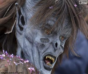 Układanka Horror maski