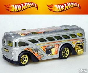 Układanka Hot Wheels autobus