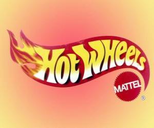 Układanka Hot Wheels logo ze Mattel