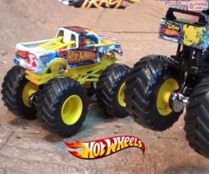 Układanka Hot Wheels Monster Jam