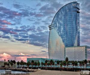 Układanka Hotel W Barcelona