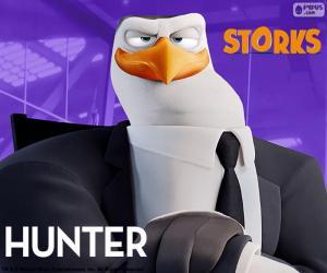 Układanka Hunter, Bociany