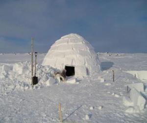 Układanka Igloo w kształcie kopuły snowhouse