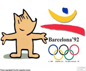 Układanka Igrzysk Olimpijskich Barcelona 1992