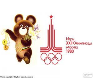 Układanka Igrzysk Olimpijskich w Moskwie 1980