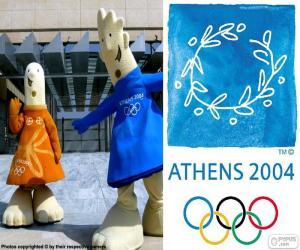 Układanka Igrzyska Olimpijskie Ateny 2004
