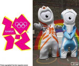 Układanka Igrzyska Olimpijskie Londyn 2012