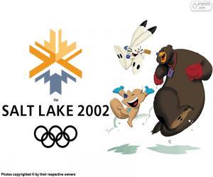 Układanka Igrzyska Olimpijskie Salt Lake City 2002