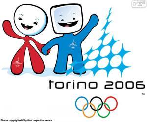 Układanka Igrzyska Olimpijskie Turyn 2006