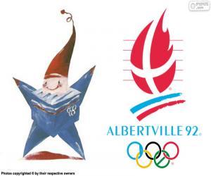 Układanka Igrzyska Olimpijskie w Albertville 1992