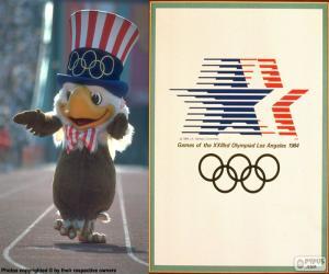 Układanka Igrzyska Olimpijskie w Los Angeles 1984