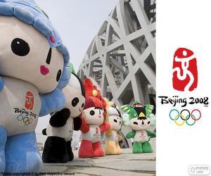 Układanka Igrzyska Olimpijskie w Pekinie 2008