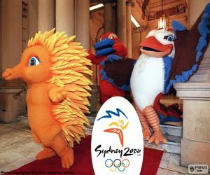Układanka Igrzyska Olimpijskie w Sydney 2000