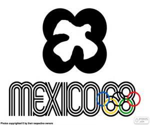 Układanka Igrzyskach Olimpijskich w Meksyku 1968
