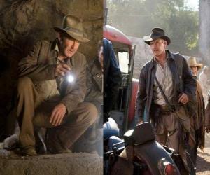 Układanka Indiana Jones jest jednym z największych na świecie najbardziej znanych poszukiwaczy przygód