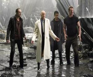 Układanka Industrial milioner Lex Luthor, który zazdrości i nienawiści, śmierci, główny czarny charakter. Był prezydentem Stanów Zjednoczonych.