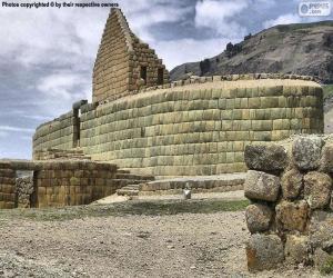 Układanka Ingapirca, Ekwador