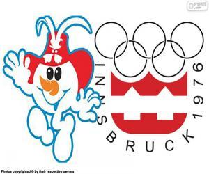 Układanka Innsbruck Zimowych Igrzyskach Olimpijskich 1976
